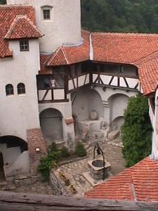 Inner courtyard, Bran Castle